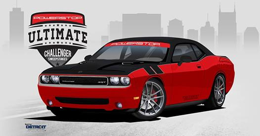 Power Stop Turbocharged Dodge Challenger Giveaway