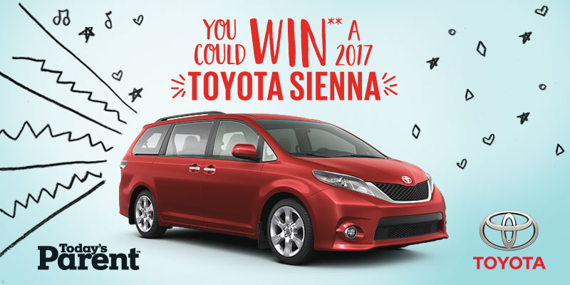 Today's Parent – 2017 Toyota Sienna Contest