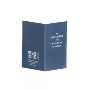 Get a free ACLU Pocket Constitution of The United States book by ordering with a coupon code
