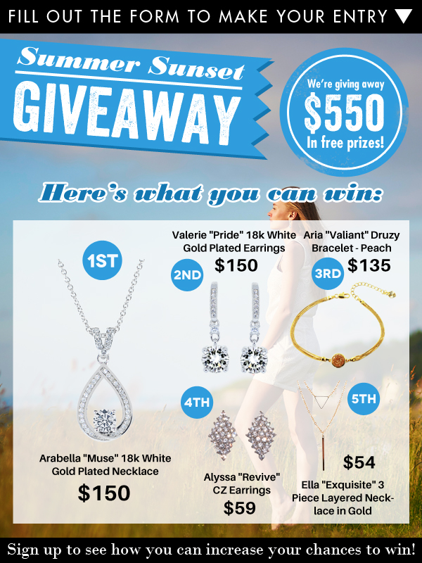 Cate and Chloe Jewelry Giveaway