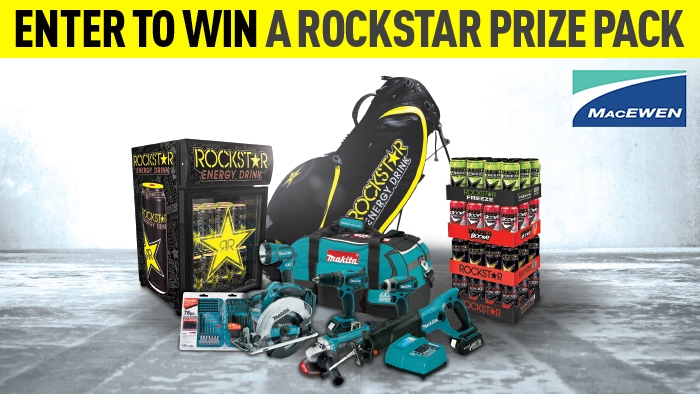 Rockstar Energy Mini Fridge Contest