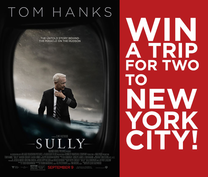 Warner Bros Canada Trip to NYC Giveaway