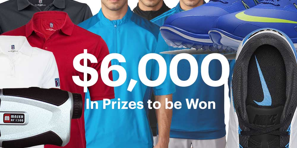 Underpar $6,000 Golf Products Contest